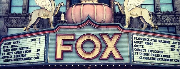 Fox Theatre is one of Dan's Places.