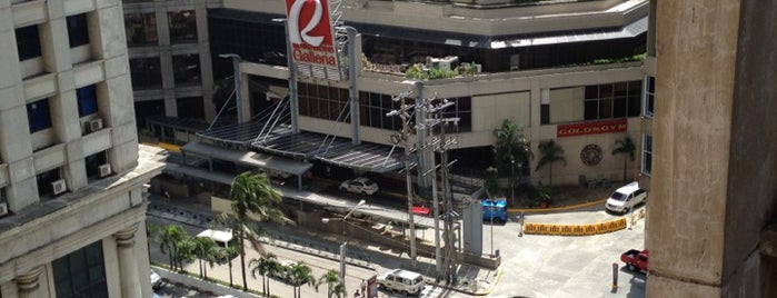 Robinsons Galleria is one of Must-visit Malls in Quezon City.