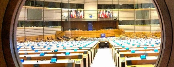 European Parliament is one of Brussel.