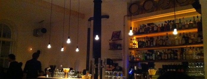 Attentat Griechischer Salat is one of Bars + Restaurants.