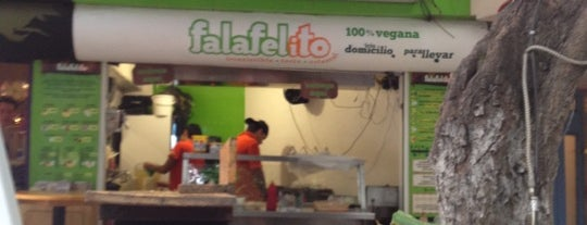 Falafelito is one of Un Chilango Vegetariano.