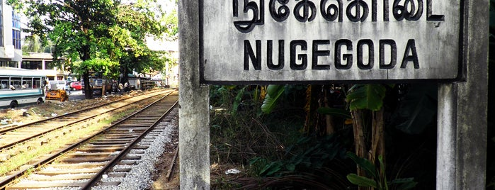 Nugegoda Railway Station is one of Railway Stations In Sri Lanka.