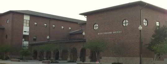 Betsy Cheramie Ayo Hall is one of Nicholls State University.