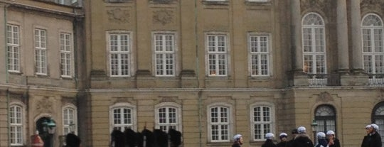 Amalienborg Palace is one of I Love Copenhagen! #4sqcities.