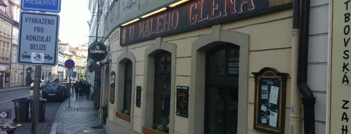 U Malého Glena is one of The 13 Best Places for Guinness in Prague.