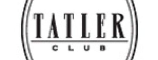 Tatler Club is one of Novikov Restaurant Group.