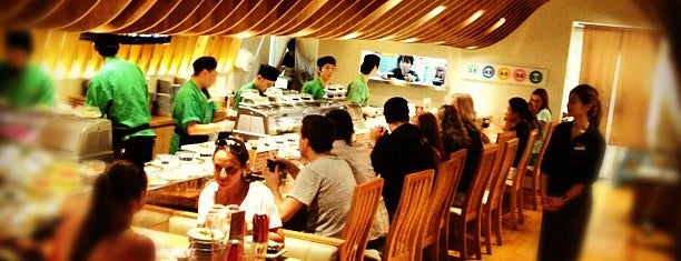 Sushi Train is one of Lunch/dinner.