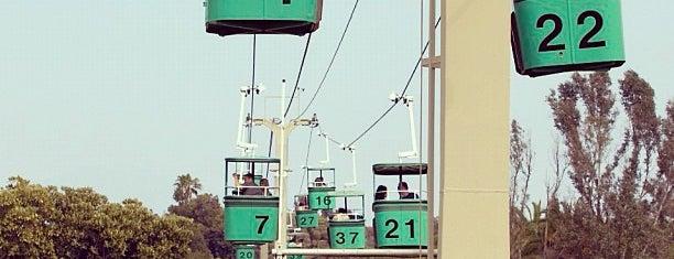 Skyfari Aerial Tram is one of california.