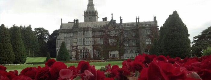 Adare Manor Hotel is one of Historic Hotels to Visit.