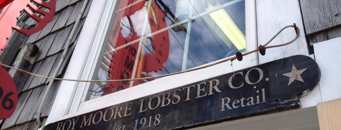 Roy Moore Lobster Company is one of Viagem 2014.