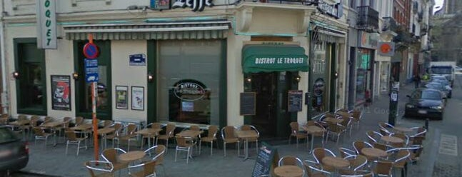 Le Troquet is one of Bruxelles, food and drinks.