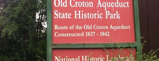 Old Croton Aqueduct is one of NYC Dating Spots.