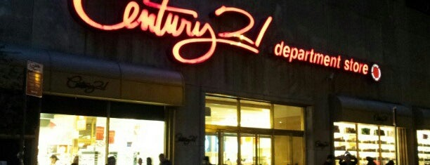 Century 21 Department Store is one of 101 places to see in Manhattan before you die.