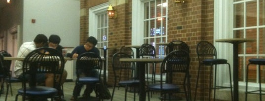 Illini Union Courtyard Cafe is one of Frequented.