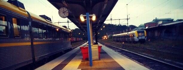 Uddevalla Centralstation is one of Tågstationer - Sverige.
