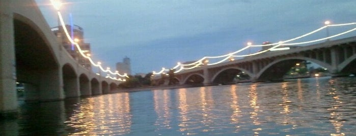 Tempe Town Lake is one of PHX Parks in The Valley.