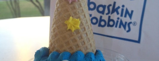 Baskin-Robbins is one of Ice Cream! Only!.