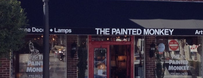 The Painted Monkey is one of Visit Roswell, GA.