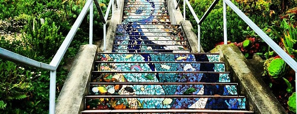 Golden Gate Heights Mosaic Stairway is one of San Francisco.