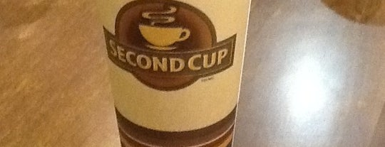 Second Cup is one of a cup of coffe.