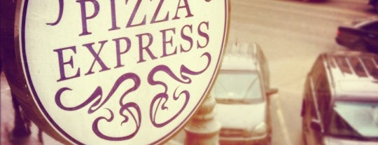 Pizza Express is one of Moskova 2.