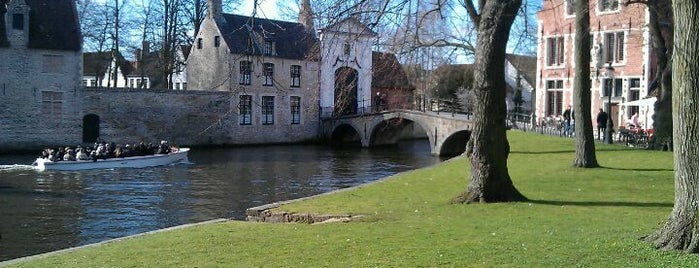 Minnewaterpark is one of Bruges.