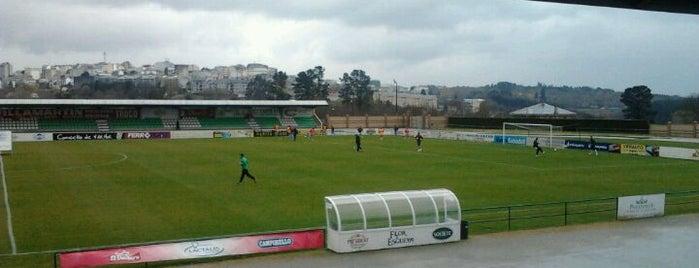 Estadio Municipal A Magdalena is one of Campos de fútbol.