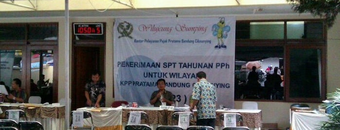 KPP Pratama Bandung Cibeunying is one of on job.