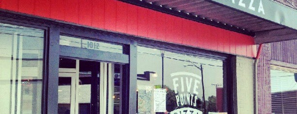 Five Points Pizza is one of The 15 Best Places with Good Service in Nashville.