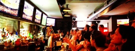 Smithfield NYC is one of NYC spots to watch the Olympics.