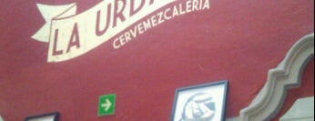 La Urbana Cervemezcaleria is one of Algunos lugares....