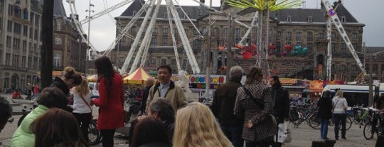 Dam Square is one of Guide to Amsterdam's best spots.
