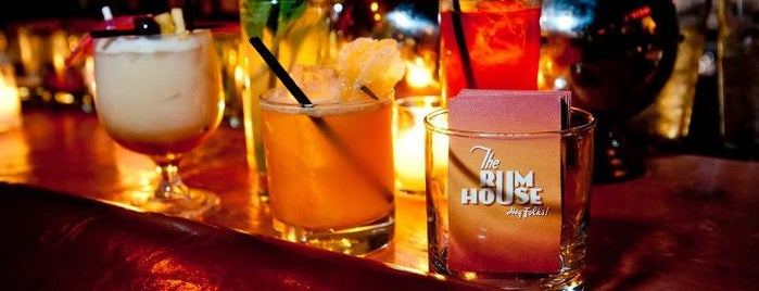 The Rum House is one of Let's Drink Here (Manhattan).