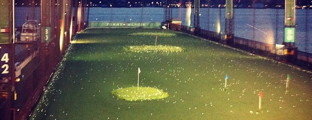The Golf Club at Chelsea Piers is one of NYC Tour - Friends/Family edition.