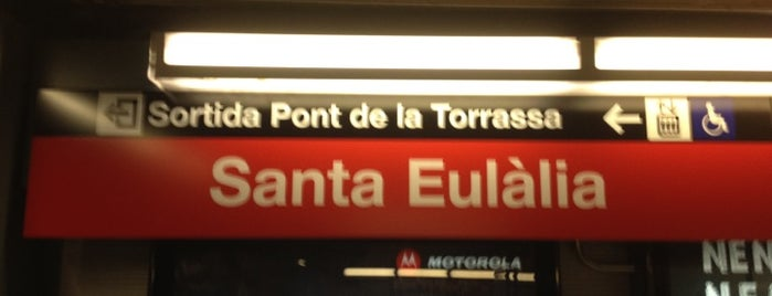 METRO Santa Eulàlia is one of Lista Cris B..
