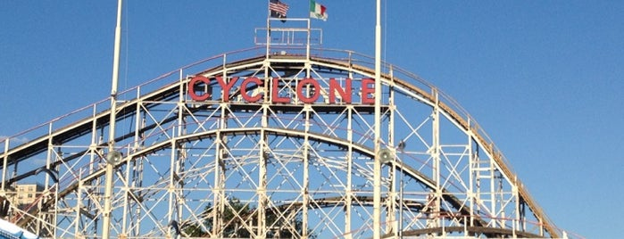 Luna Park is one of Brooklyn.