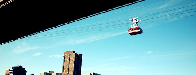 Roosevelt Island Tram (Roosevelt Island Station) is one of Our Favorite NYC Spots.