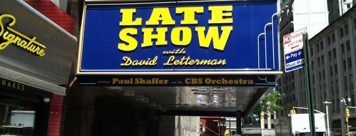 The Late Show with David Letterman is one of Great Venues To Visit....