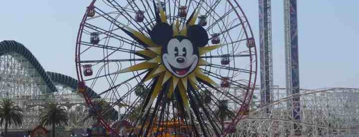 Disney California Adventure Park is one of I  2 TRAVEL!! The PACIFIC COAST✈.