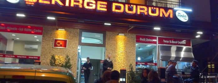Çekirge Dürüm is one of Best places in Bursa, Türkiye.