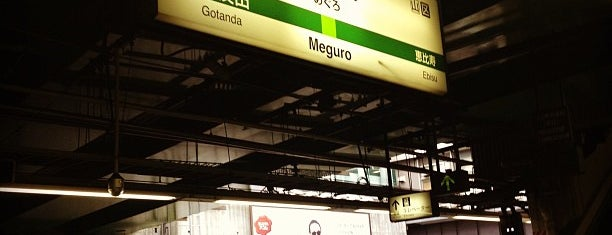 Meguro Station is one of Tokyo JR Yamanote Line.