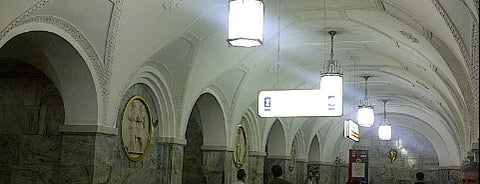 Метро Парк культуры, кольцевая is one of PayPass Moscow.