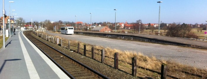 Bahnhof Oldenburg (Holst) is one of DB ICE-Bahnhöfe.