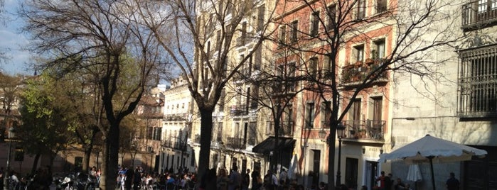Plaza de la Paja is one of Madrid.