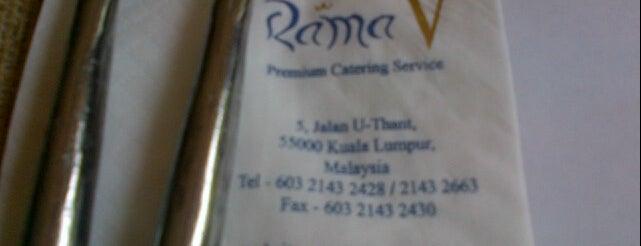 Rama V Fine Thai Restaurant is one of Makan @ KL #1.