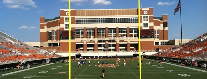 Boone Pickens Stadium is one of Sporting Venues To Visit.....