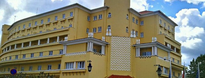 Grande Hotel do Luso is one of Hotels in Portugal.