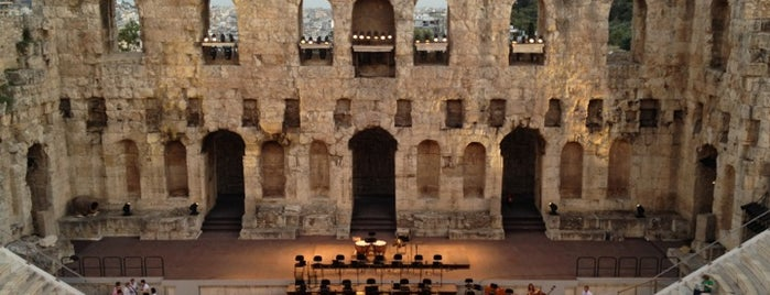 Herod Atticus Odeon is one of Parthenon.