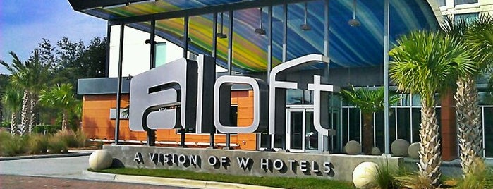 Aloft Jacksonville Tapestry Park is one of New Places to Eat.