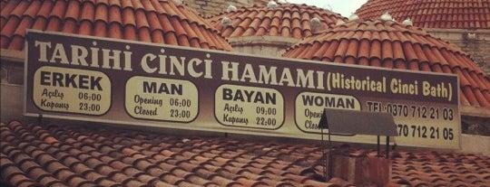 Tarihi Cinci Hamamı is one of Must see ,visit ,taste etc by Ceda.